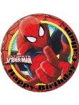 7.5 Ultimate Spiderman Personalised Edible Icing or Wafer Paper Cake Top Topper